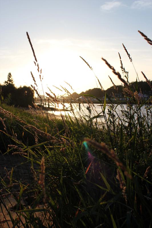 Farbenspiel Sonnenuntergang