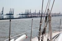 Segeln auf der Weser