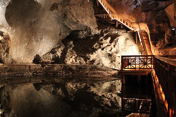 salzsee-bergwerk