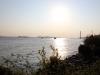 Elbe bei Sonnenuntergang