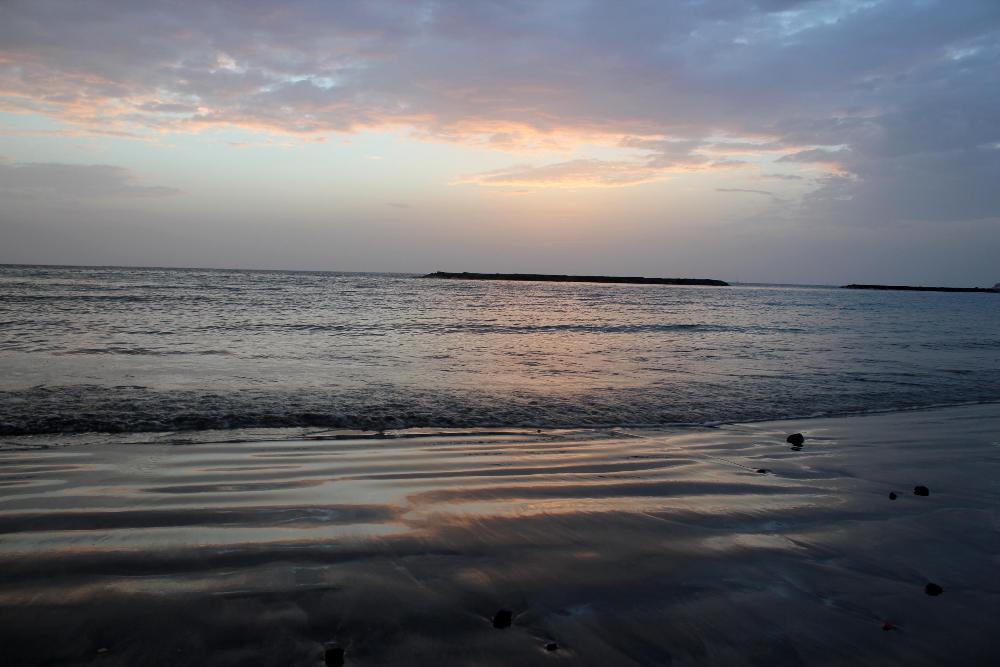 Atlantik bei Abendsonne