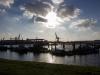 Sonnenschein am Hafen