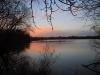 Sonnenuntergang am Dungersee