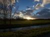 Sonnenuntergang im Werderland