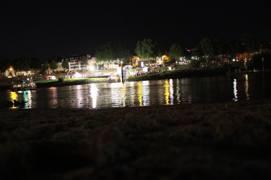 Osterdeich bei Nacht
