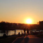 Frühlingssonne am Osterdeich