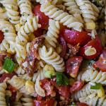 Parmesan-Nudelsalat