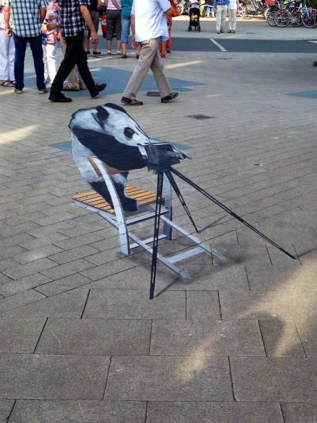 StreetArt Foto-Panda