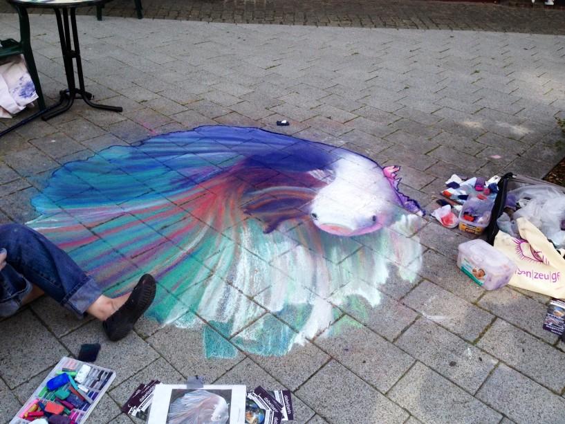 Street Art Fisch