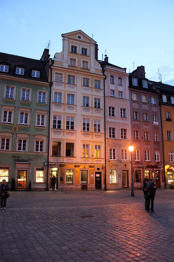 Breslau Häuserfront