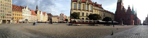 Platz in Breslau