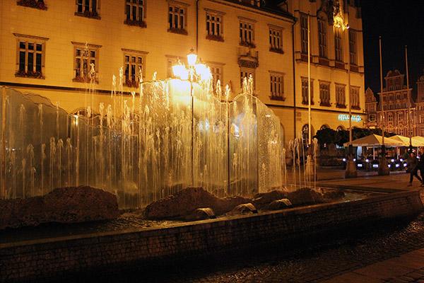 Springbrunnen Breslau