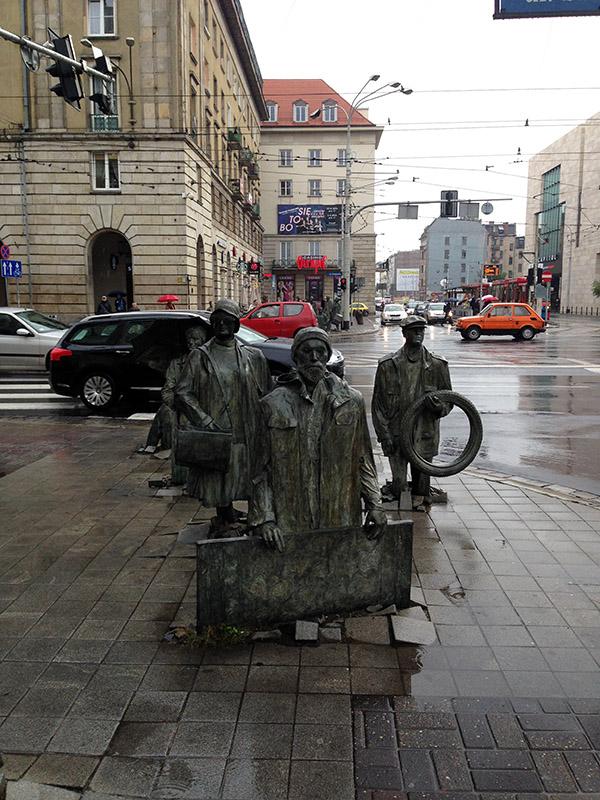 Statuen Breslau