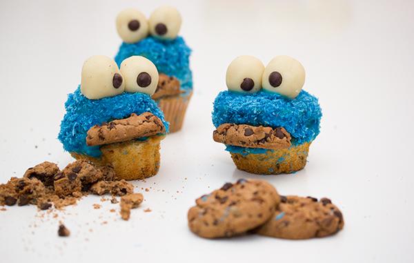 Krümelmonster Muffin