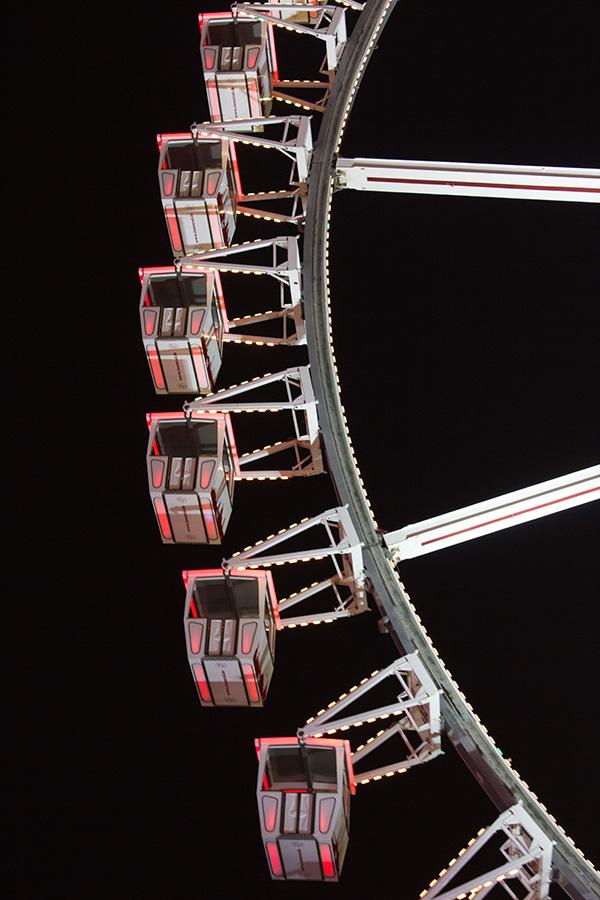 Gondeln Riesenrad