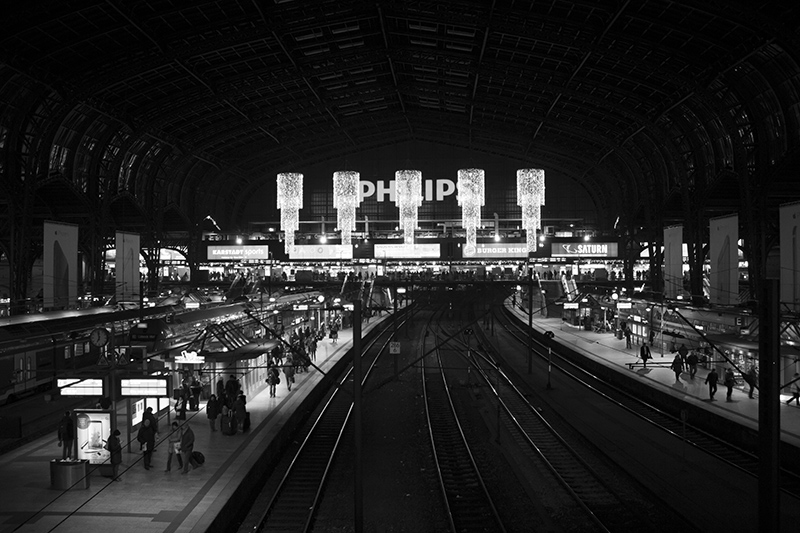 Bahnhofsuhr Hamburg Hbf