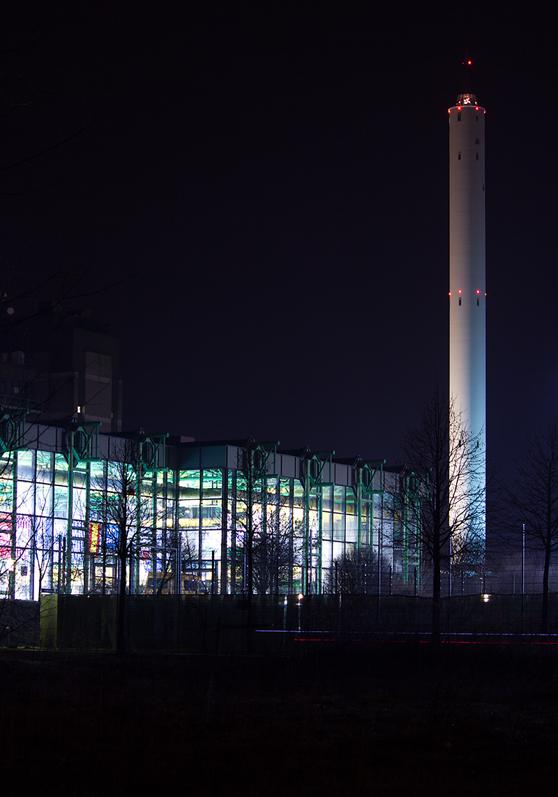 Der Fallturm in Bremen