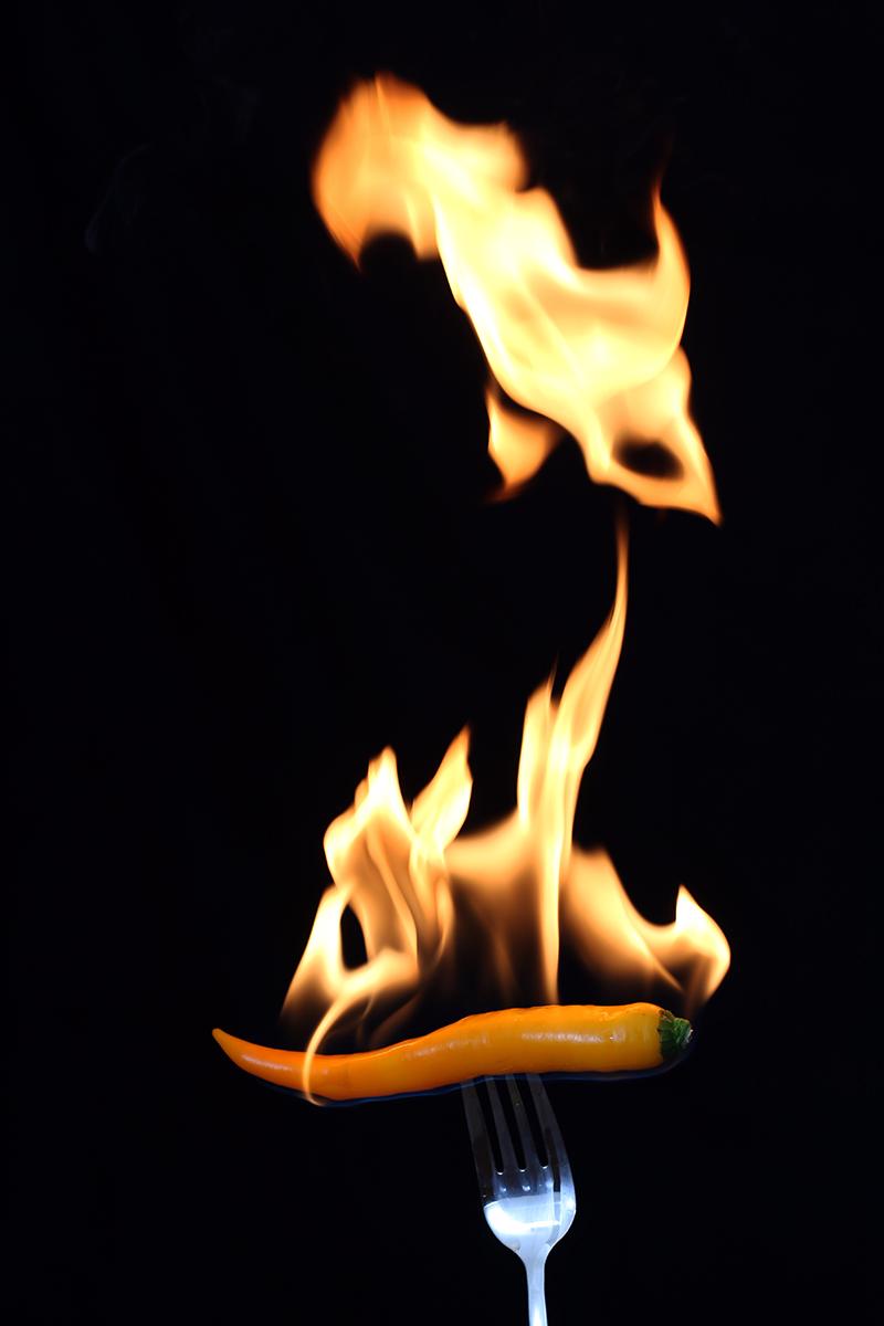 Gelbe Feuer Chili