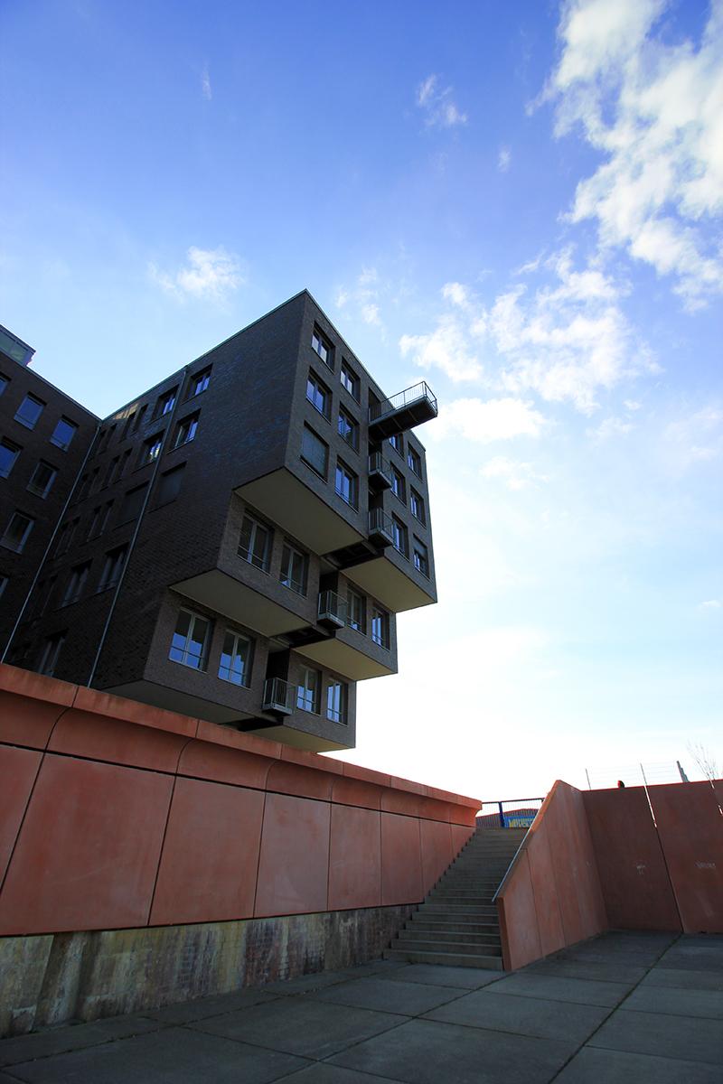 Architektur im Europahafen