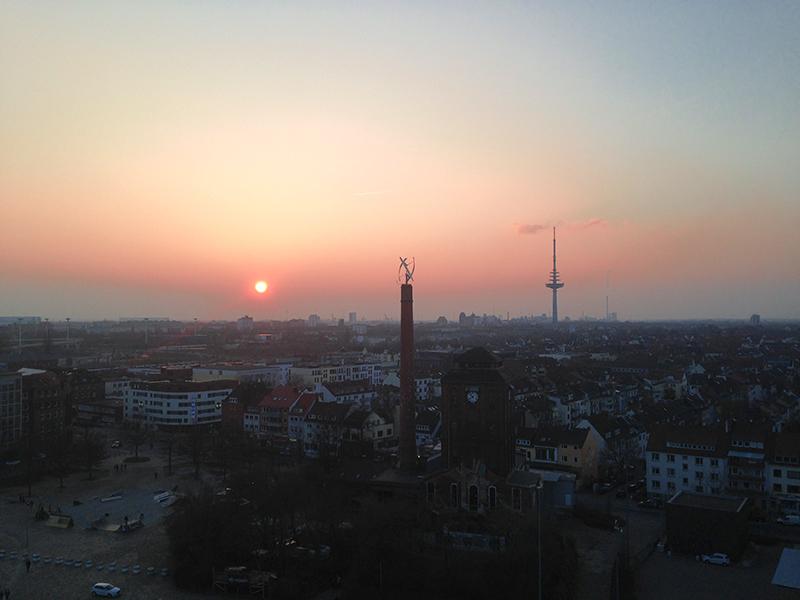 Bremen aus dem Riesenrad