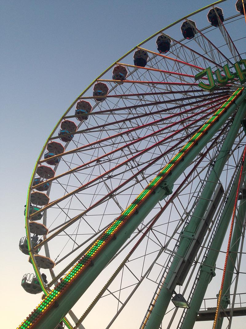 Riesenrad Bremen Osterwiese