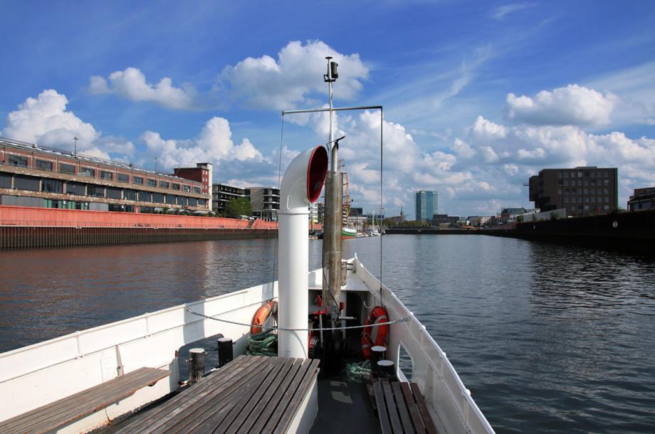 Weser Richtung Europahafen