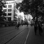 Innenstadt farblos schön