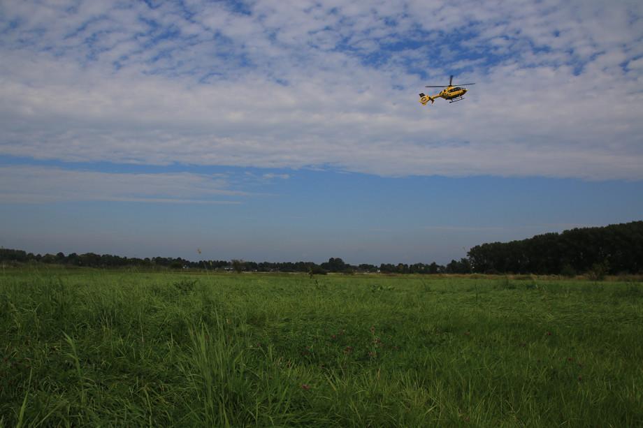 Koppel und Helikopter