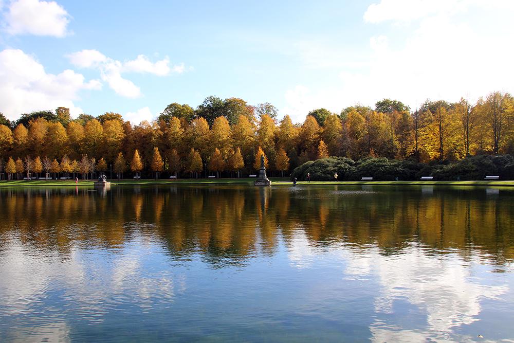 Hollersee im Herbst