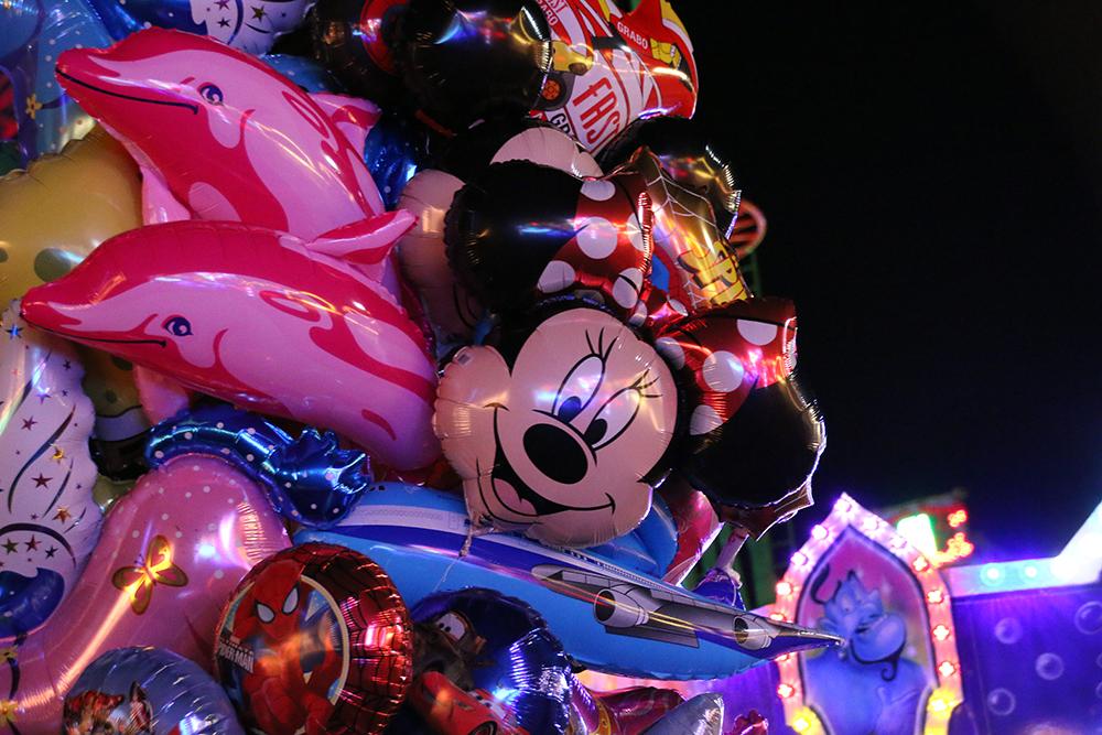 Heißluftballons auf dem Freimarkt