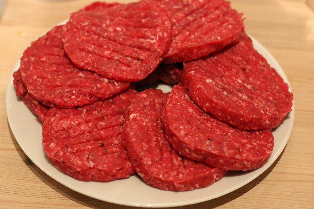 Rinderhack Burgerfleisch