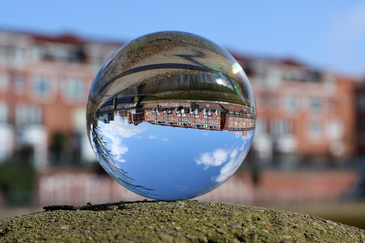 Bremen in der Glaskugel