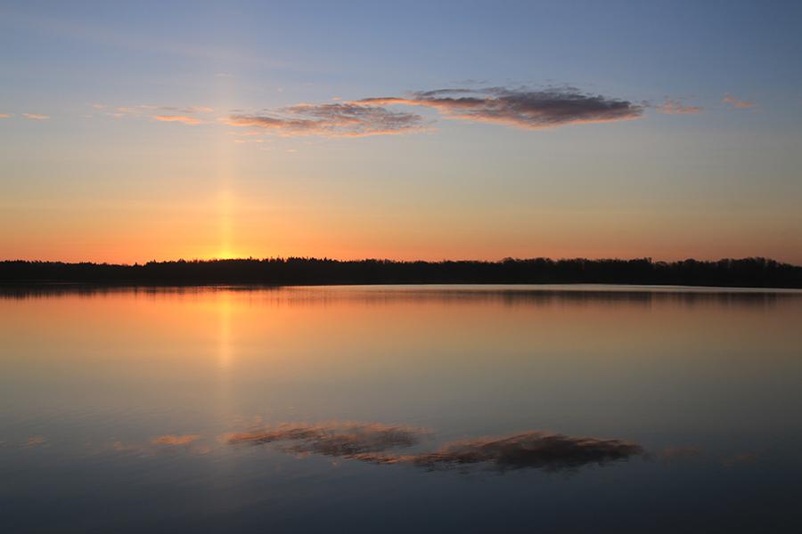 Bolmsö Sonnenaufgang