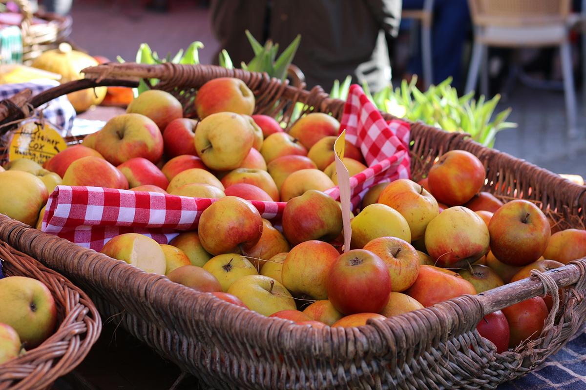 Äpfel Findorffmarkt