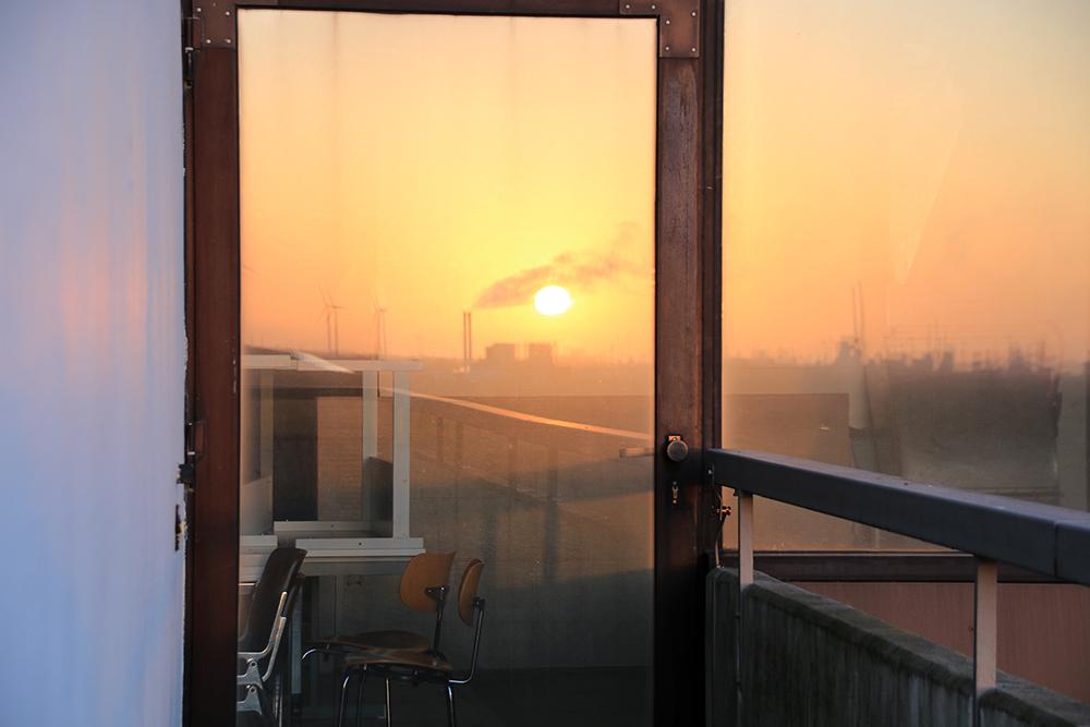 Sonnenuntergang Spiegelung