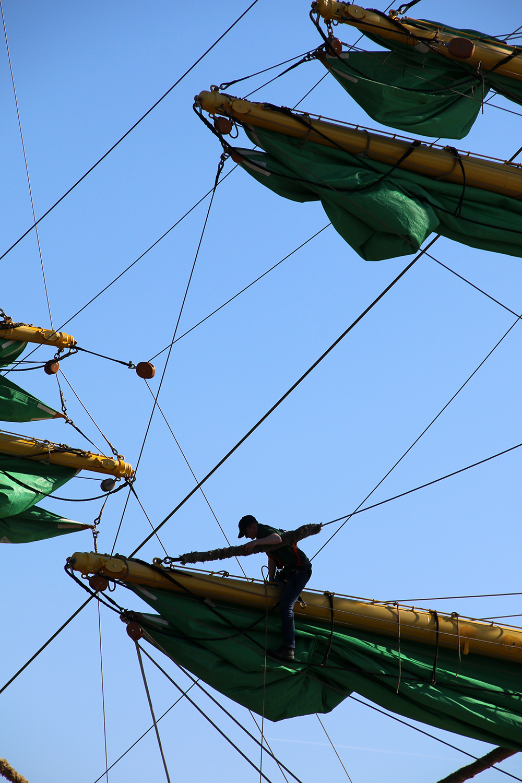 Mast Segelschiff