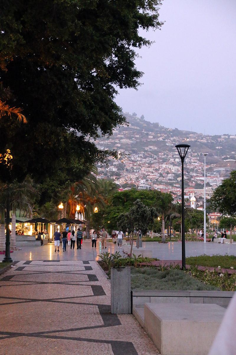 Promenade Madeira- Funchal