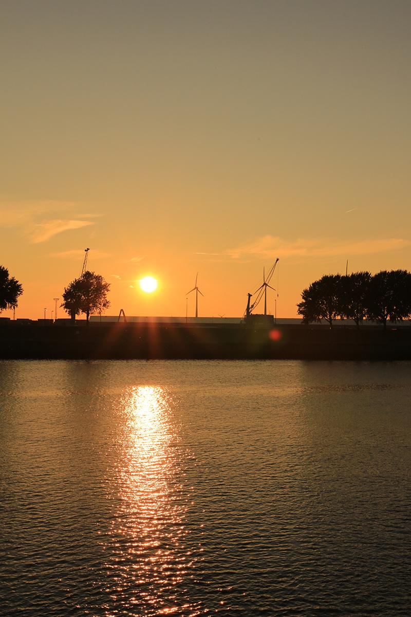 Sonnenuntergang molenfeuer