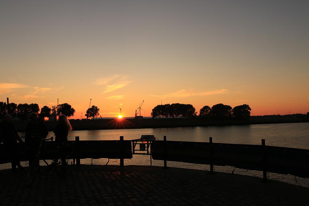 Sonnenuntergang Molenturm