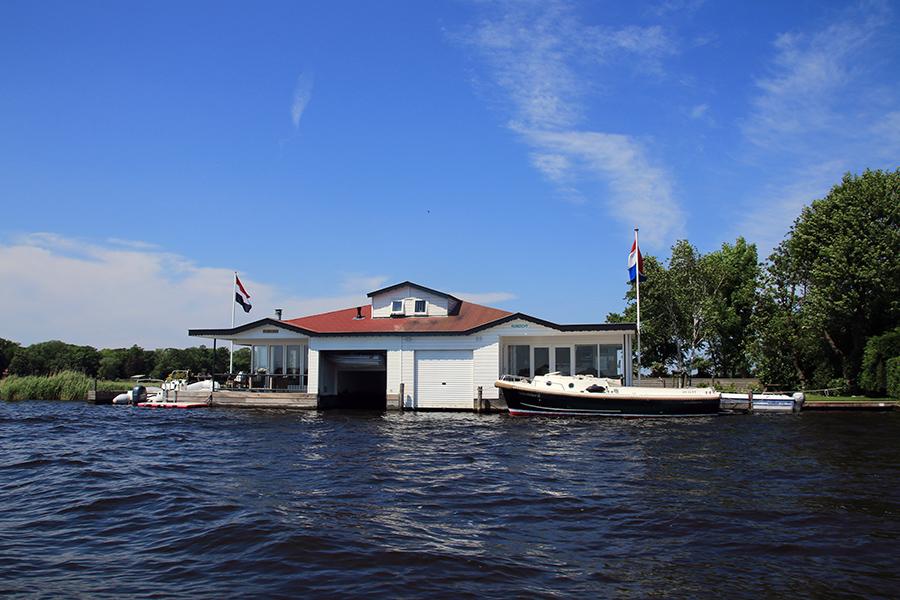 Bootstour Richtung Leiden